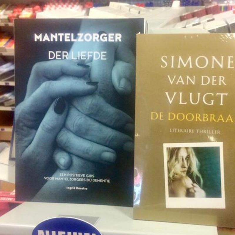 Vosvorm - grafisch ontwerpbureau - Mantelzorger der Liefde | boek